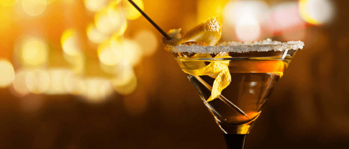 Lemon Tea Martini