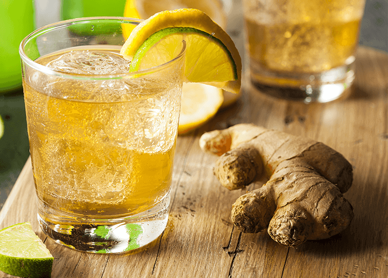 Ginger Tea Cocktail