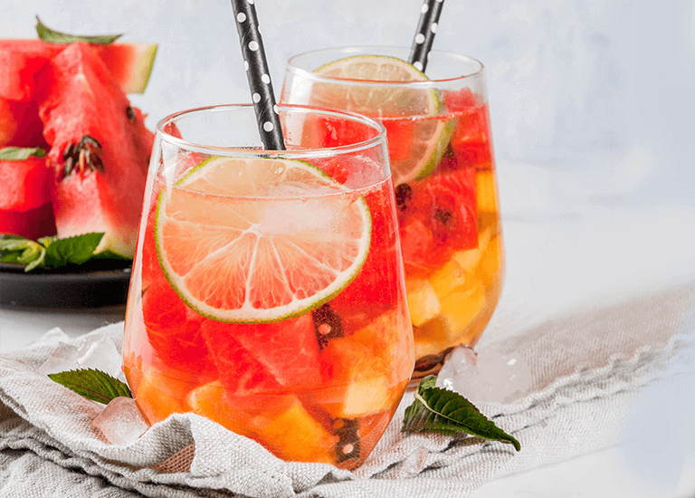 Southern Fruit Tea Cocktail